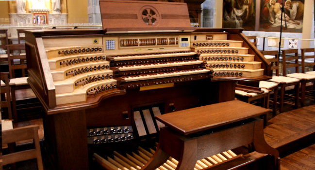 Organ works home for Classic house organ bass